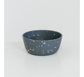 KENTUCKY bamboo dog bowl TERRAZZO MEDIUM