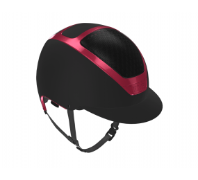 KASK Dogma Painted Black/Fucsia Magenta 54