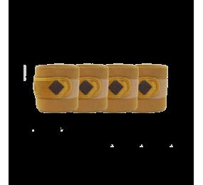 KENTUCKY Bandage de polo Velvet moutarde