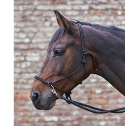WALDHAUSEN knotted halter with reins