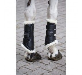 NORTON Synthetic Sheepskin closed tendon boots