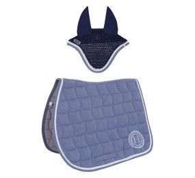 HARCOUR Pack Coen Saddle Pad and Chilla Fly Veil