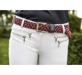 MOUNTAIN HORSE belt tri-color stretch unisex