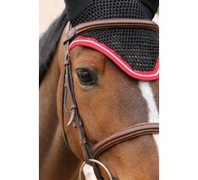HARCOUR Black Diamond Fley veil - Red Braid - Silver Cord