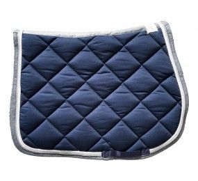 CRISTINA SPORT Saddle Pad Navy Grey