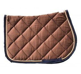 Cristina Sport Saddle Pad brown beige brown