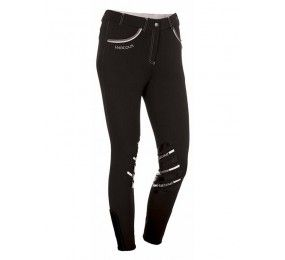HARCOUR Jalisca Horseriding pants Black front