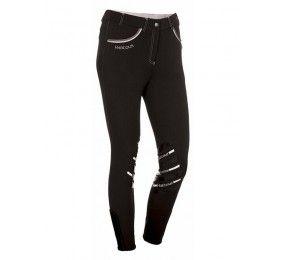 HARCOUR Jalisca Pantalon d'equitation Noir avant