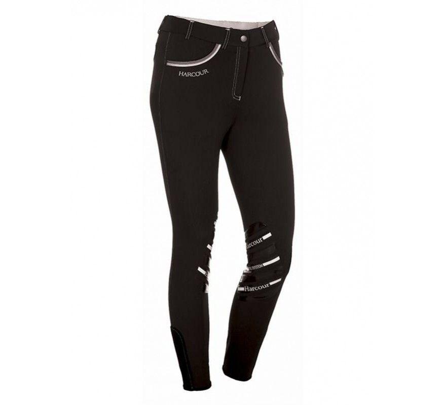 HARCOUR Jalisca Horseriding pants Black front