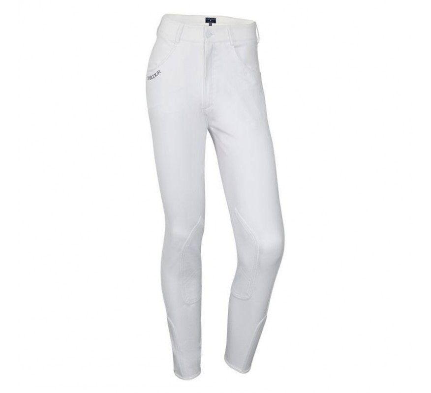 HARCOUR Orient Pantalon d'equitation Enfants Blanc