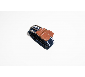 Deboy Unisex Belt navy-white