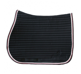 KENTUCKY Color edition Saddle Pad Black Burgundy Black