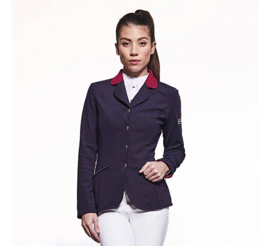 HARCOUR Competition Jacket Frech Team Navy