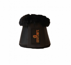 KENTUCKY Cloches cuir mouton noir noir