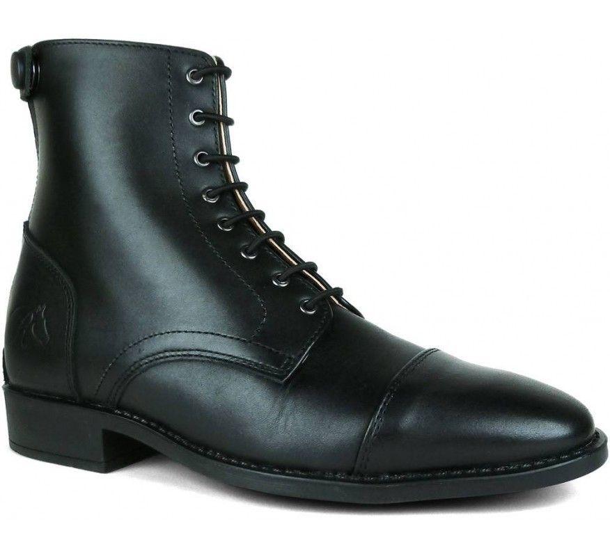 Rectiligne Boots CSO Lacets Noir