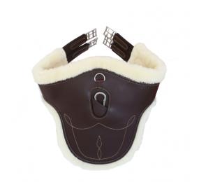 KENTUCKY Sangle Mouton faux cuir brun