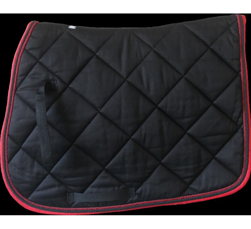 HFI Saddle Blanket Navy-Red