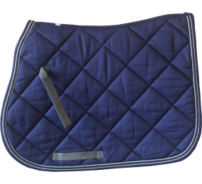 HFI Saddle Blanket Navy-Grey