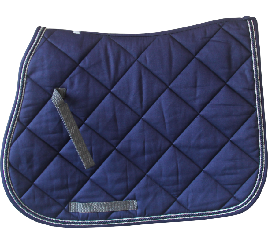HFI Saddle Blanket Navy-Grey