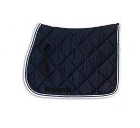 HFI Saddle Blanket Navy-White