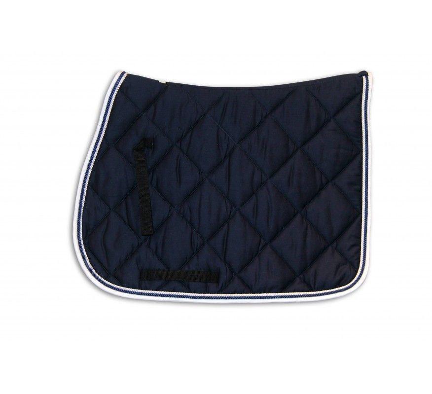 HFI Saddle Blanket Navy-White